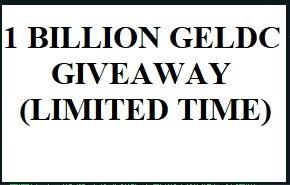 1 billion GELDC airdrop