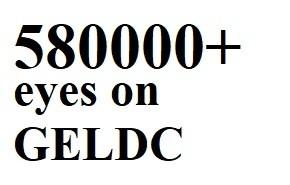 580000+ eyes on GELDC in October